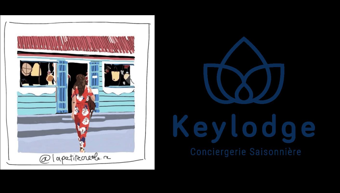 La Petite Créole en partenariat avec Keylodge conciergerie saisonnière à la Réunion