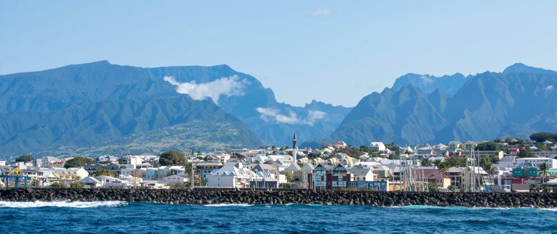 Saint-Pierre vue de la mer - Keylodge, conciergerie saisonnière à la Réunion