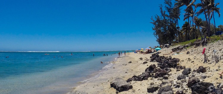 Top 10 des plages de la Réunion - Découvrez la plage de trou d'eau avec Keylodge, locations saisonnières à la Réunion