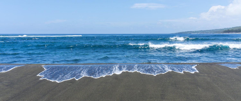 Découvrez le plage de l'Etang-Salé avec les locations saisonnière Keylodge à la Réunion