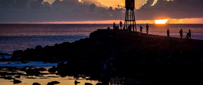 Keylodge vous accueille à Saint-Pierre d'où bous pourrez observer le coucher de soleil