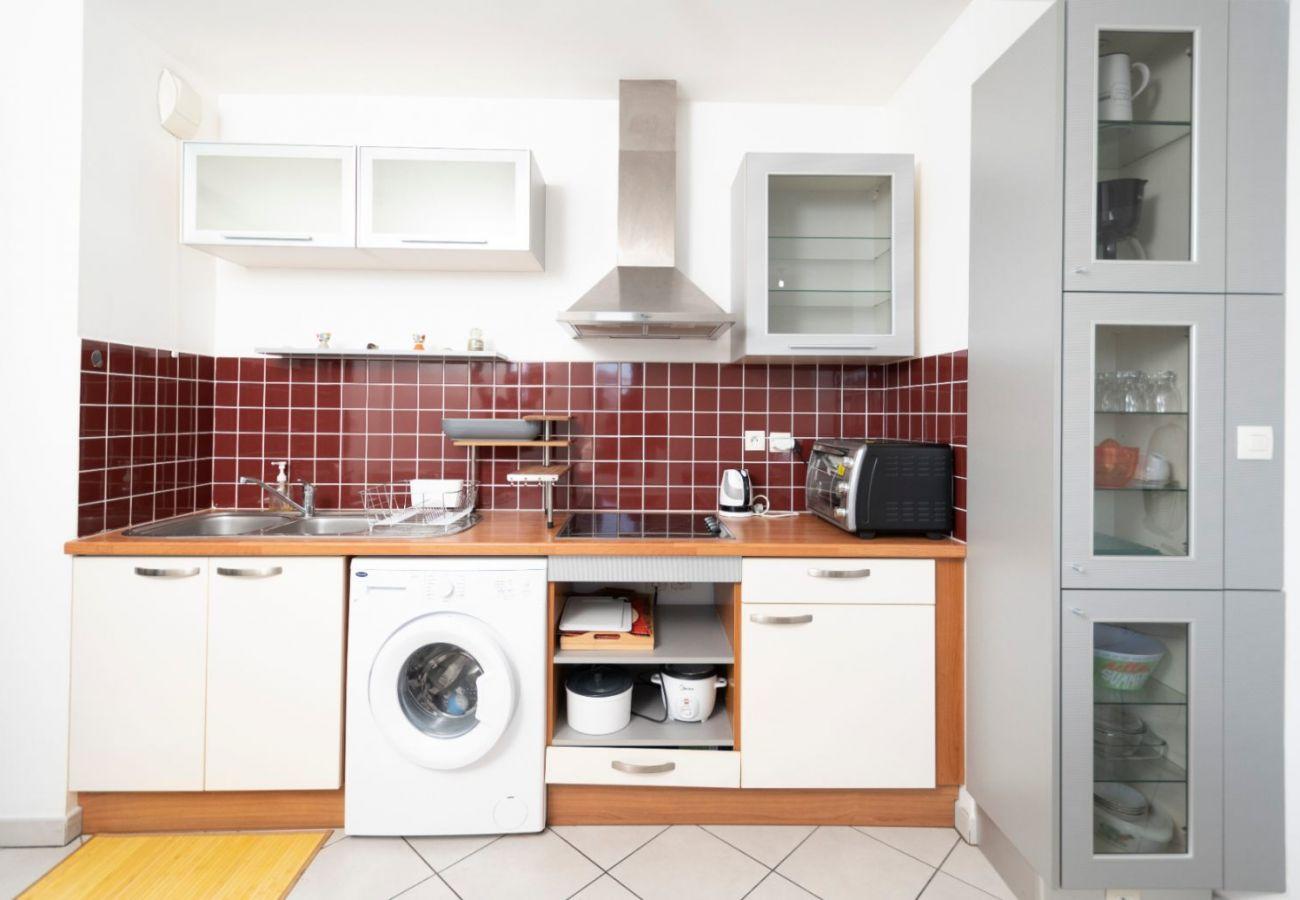 Apartment in Saint Pierre - T2 - SudBeach - 44 m2 - Seafront - Saint-Pierre