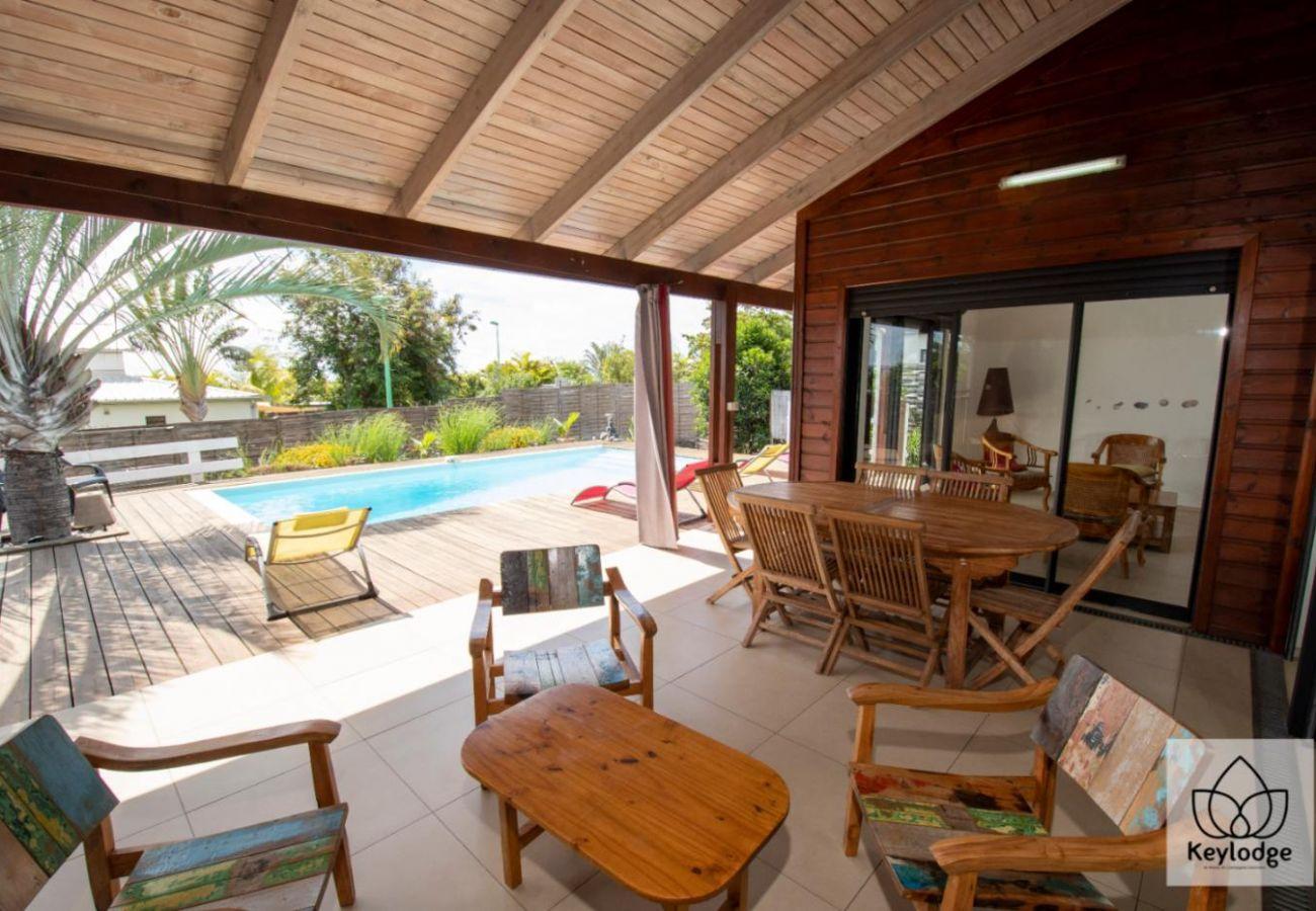 Villa in Saint-Gilles les Bains - Villa Sun Beach 3*** - 177m2 - Swimming pool - St-Gilles-les bains