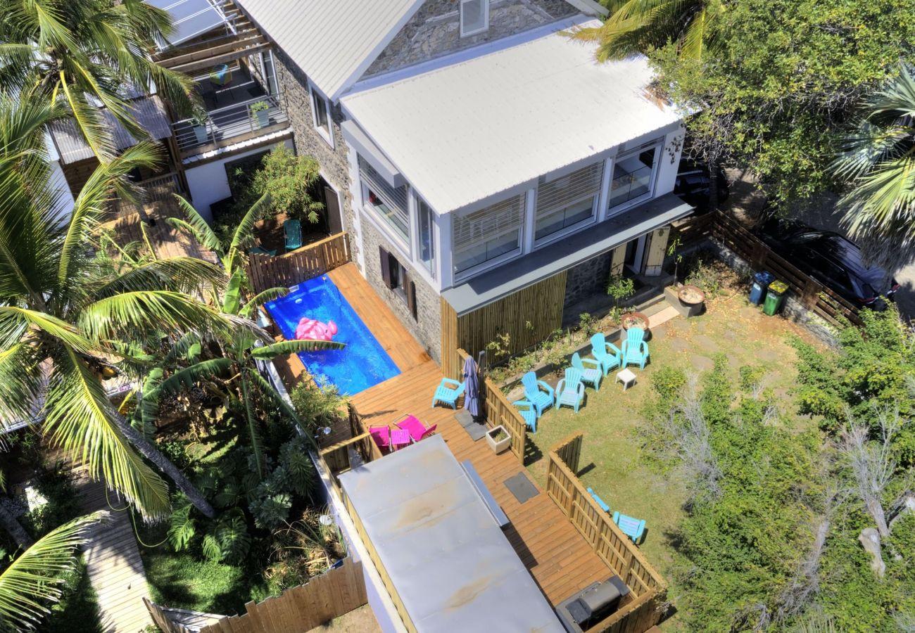 Villa in Saint-Gilles les Bains - Villa Radjmahal*** - 160 m2 - Private Pool- Saint-Gilles Roches Noires