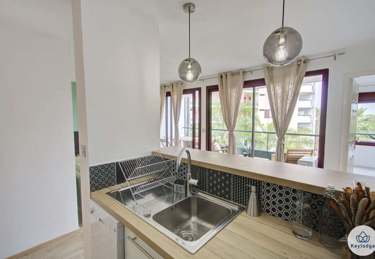 Apartment in Sainte-Clotilde - T2 - Vert d'O - 42 m2 - renovated - 3 mn from airport – Ste-Clotilde