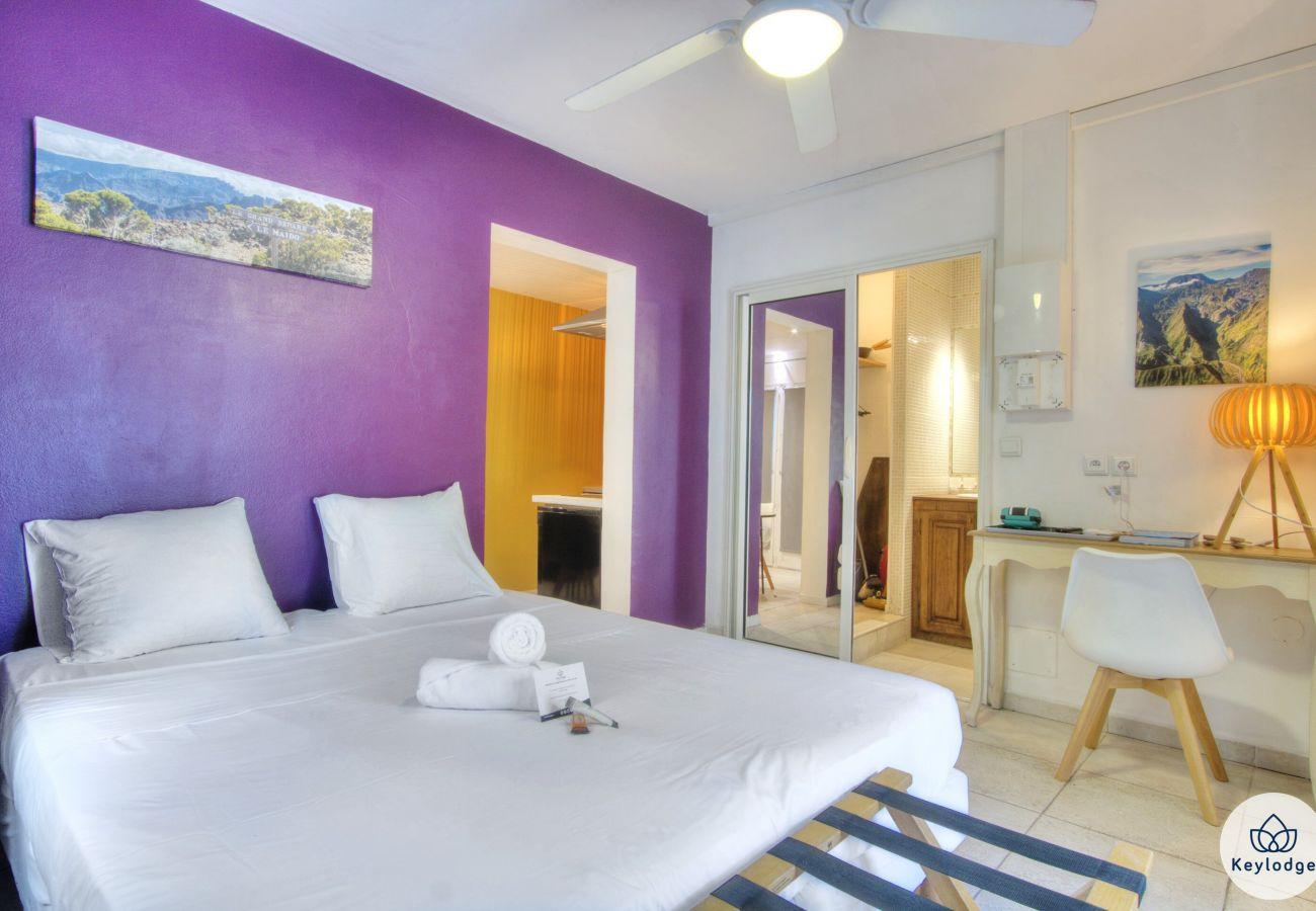 Apartment in Saint Pierre - T2 - Fleur d'Agave - 32 m2 – swimming pool - Saint-Pierre