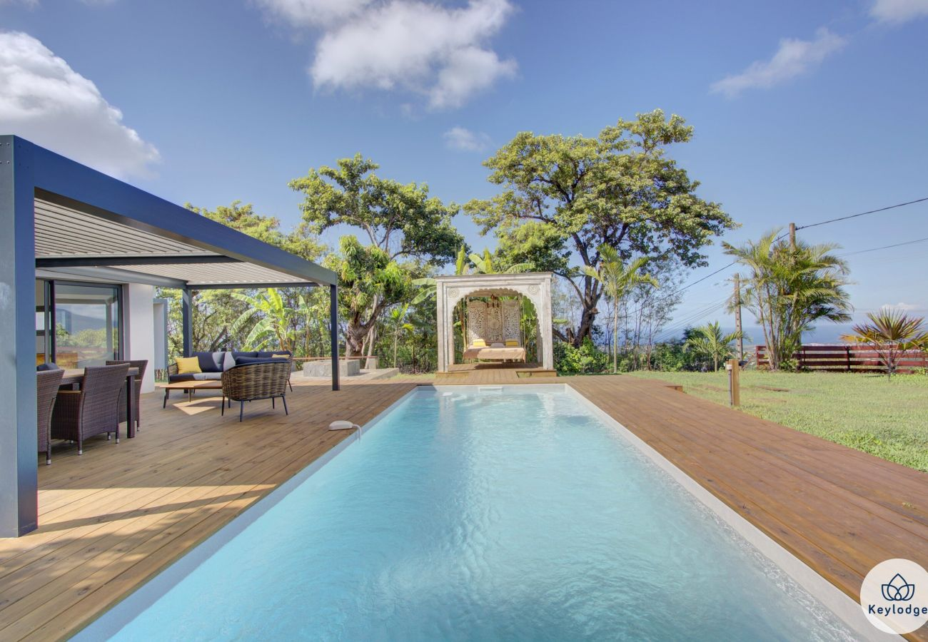Villa in ENTRE-DEUX - Villa Taaj Palace – swimming pool – Entre-Deux