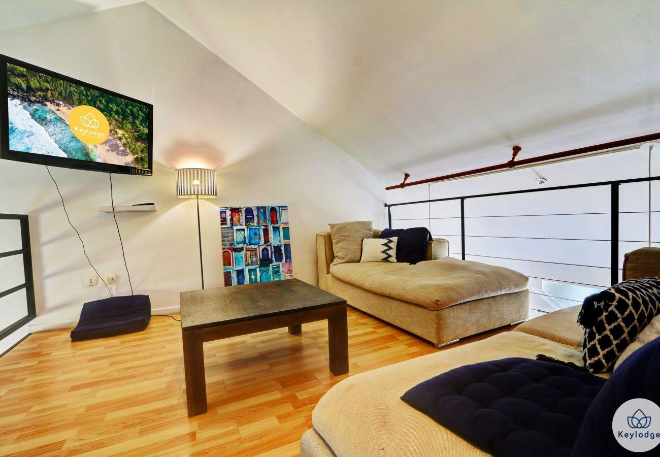 Apartment in Saint-Gilles les Bains - T3 - Sweet Summer 2 - 120 m2 - Sea view - St-Gilles