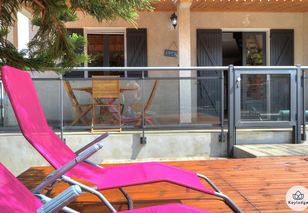 Villa in Saint Pierre - Villa Manzel D Ziles – Heated Swimming Pool – Saint-Pierre