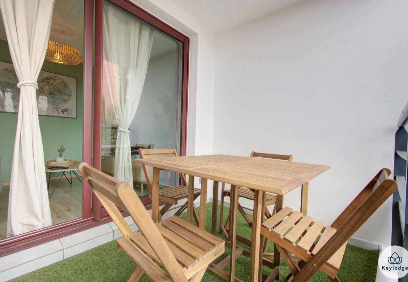 Appartement à Sainte-Clotilde - T2 - Vert d'O - 42 m2 - Rénové - 3 mn aéroport – Ste-Clotilde