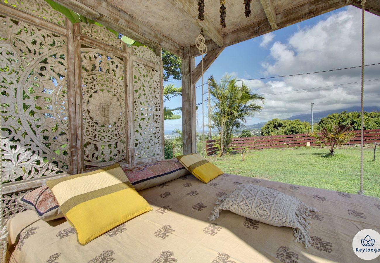 Villa à ENTRE-DEUX - Villa Taaj Palace - 100 m2 - piscine  et nature - Entre Deux