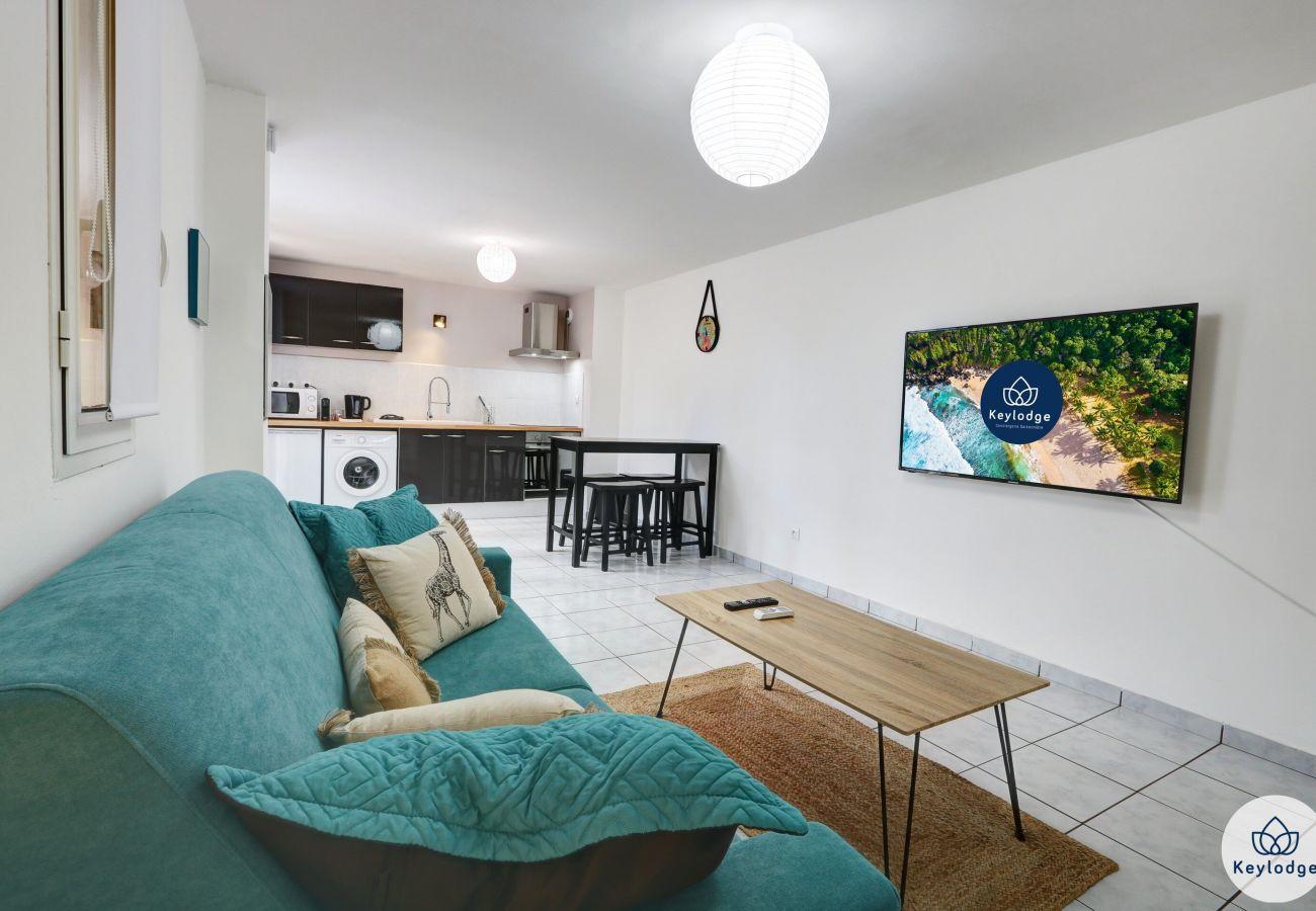 Studio à Saint Denis - T1 - Zoysia - 36 m2 – Equipé et rénové - Proche centre-ville Saint-Denis