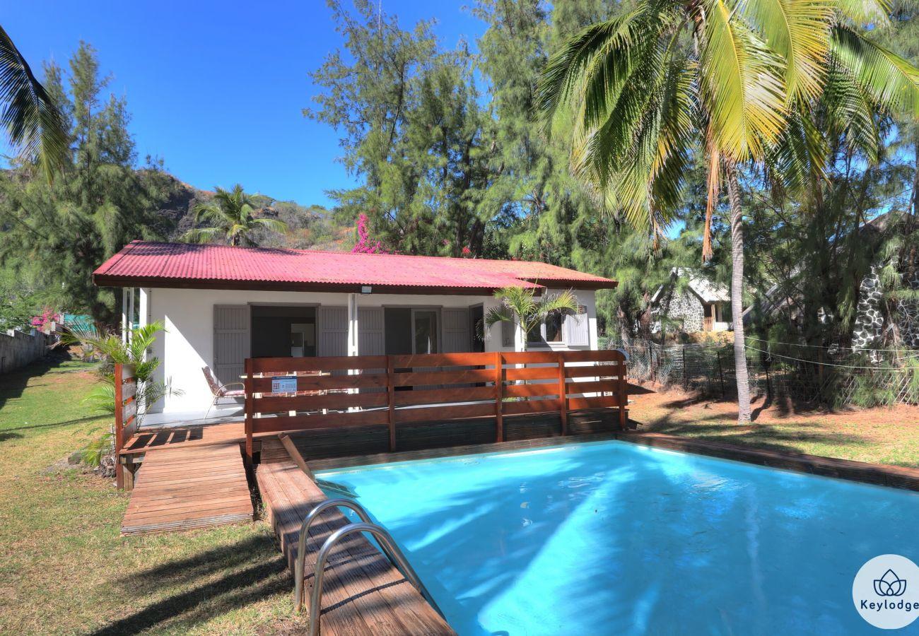 Villa à Saint-Gilles les Bains - Villa Sarah -Piscine – Pied dans l'eau – St-Gilles