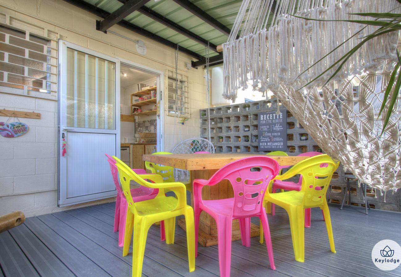 Maison à Saint-Gilles les Bains - Kaz Loukina** - plage des Roches Noires - Saint-Gilles les Bains