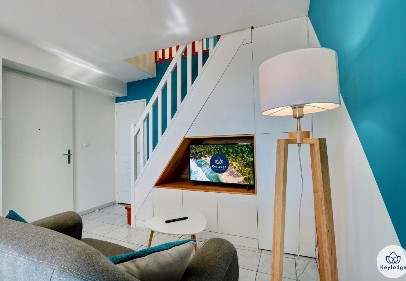 Appartement à Saint Denis - T2 - Duplex – Neptune - 48 m2 – Vue mer - St-Denis